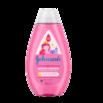 Детский шампунь для волос «Блестящие локоны» Johnson's®: лицевая сторона