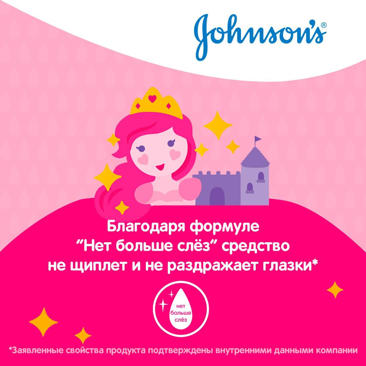 JOHNSON'S® Детский спрей-кондиционер для волос «Блестящие локоны»