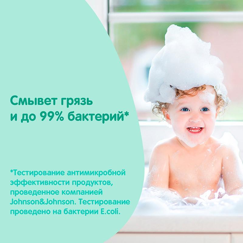 JOHNSON'S® Детское мыло с молоком