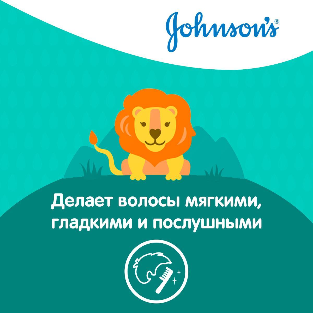 JOHNSON'S® Детский шампунь и гель 2 в 1