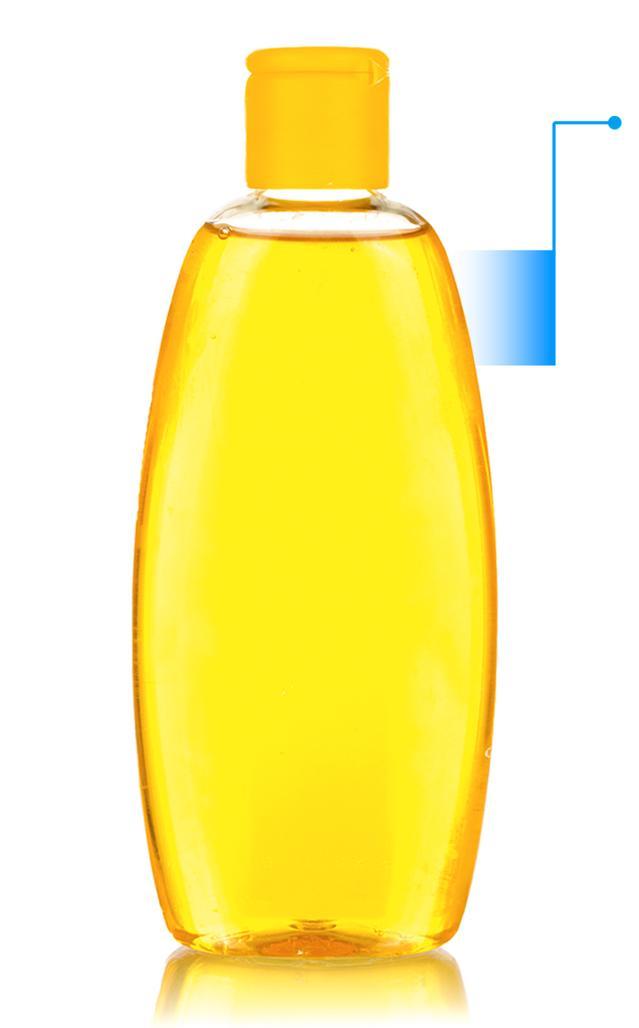 бутылочка детского средства со стрелкой вправо