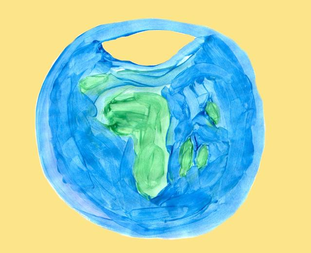 значок земного шара
