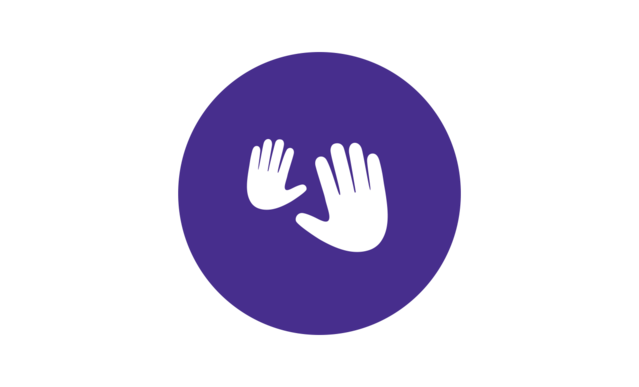 комплекс перед сном Johnson's®: изображение рук для обозначения массажа