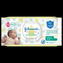 JOHNSON'S® Детские влажные салфетки «Нежность хлопка» 56 шт.