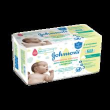 JOHNSON'S® Детские влажные салфетки «Нежность хлопка» 112 шт.